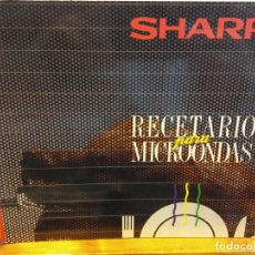 Libros de segunda mano: BJS.SHARP.RECETARIO PARA MICROONDAS.EDT, SHARP... Lote 151354822
