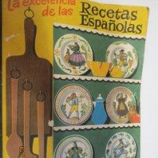 Libros de segunda mano: LA EXCELENCIA DE LAS RECETAS ESPAÑOLAS.-GALLETAS ARTIACH. Lote 151524874