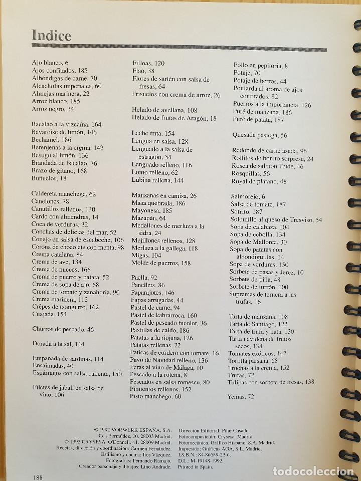 Libros de segunda mano: ÉRASE UNA VEZ ... EL MUNDO MÁGICO DEL DUENDE DE THERMOMIX - MANUAL Y RECETAS - COCINA, GASTRONOMÍA - Foto 5 - 151650534