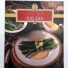 Libros de segunda mano: SALSAS - LE CORDON BLEU RECETAS CASERAS - KÖNEMANN 1998. Lote 151884322