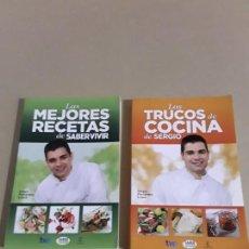 Libros de segunda mano: LOS TRUCOS DE COCINA DE SERGIO,LAS MEJORES RECETAS DE SABER VIVIR.ESPASA. Lote 151896174