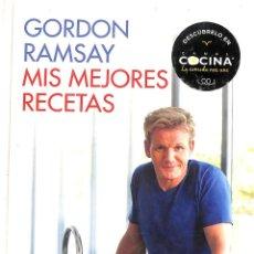 Libros de segunda mano: MIS MEJORES RECETAS - GORDON RAMSAY. Lote 151902002