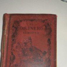 Libros de segunda mano: LIBRO, EL COCINERO EUROPEO . Lote 151903738