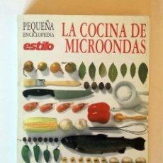 Libros de segunda mano: LA COCINA DE MICROONDAS. EL PAIS AGUILAR.. Lote 152048150
