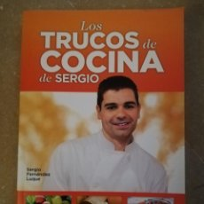 Libros de segunda mano: LOS TRUCOS DE COCINA DE SERGIO (SERGIO FERNÁNDEZ LUQUE) ESPASA. Lote 152308314