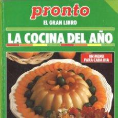 Libros de segunda mano - Pronto. La cocina del año. - 152365814