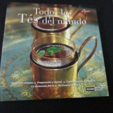 Libros de segunda mano: TODOS LOS TES DEL MUNDO, TAPA DURA SOBRECUBIERTAS, ILUSTRADO . Lote 152493790