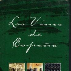 Libros de segunda mano: LOS VINOS DE ESPAÑA, POR RODRIGO MESTRE. AÑO 2001. (AP). Lote 49381380