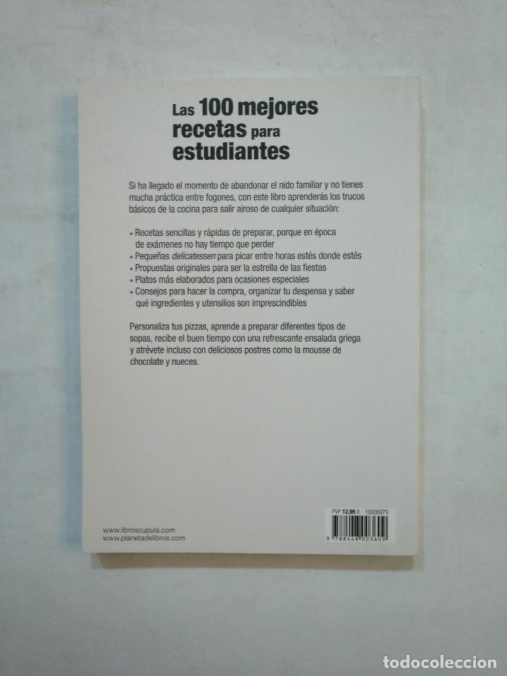 Libros de segunda mano: LAS 100 MEJORES RECETAS PARA ESTUDIANTES. - SYLVIE GIRARD-LAGORCE. LIBROS CUPULA. TDK371 - Foto 2 - 152725682