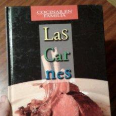 Libros de segunda mano: LAS CARNES. LA COCINA EN FAMILIA. CARMEN ARANZADI. R&B. Lote 153261454