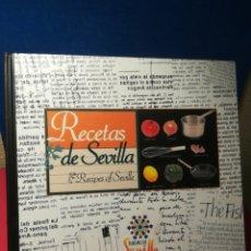 Libros de segunda mano: RECETAS DE SEVILLA/RECIPES OF SEVILLE - VVAA - CONSORCIO TURISMO SEVILLA, 2001. Lote 154802978