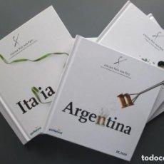 Libros de segunda mano: COCINA PAIS POR PAIS (ITALIA, MEXICO, JAPON...) - LOTE 6 LIBROS - DIARIO EL PAIS 2005 - COMO NUEVO. Lote 155395946