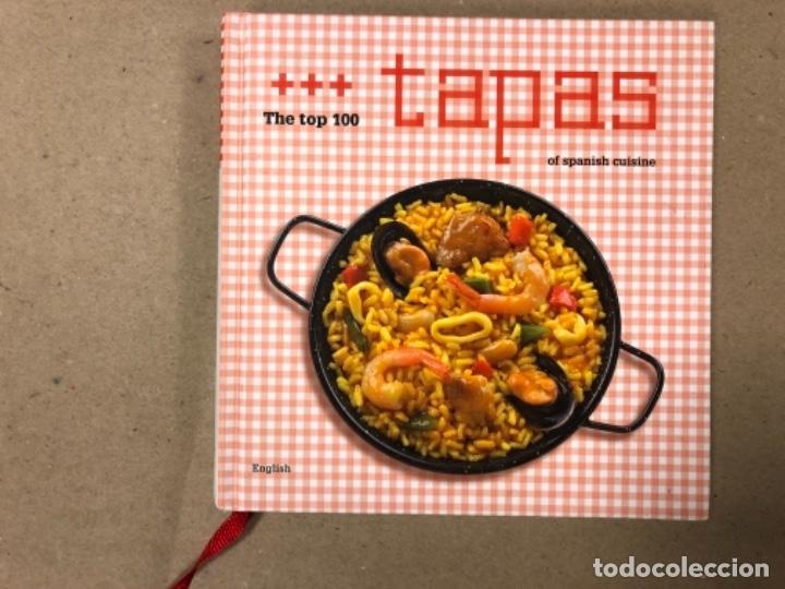 THE TOP 100 TAPAS OF SPANISH CUISINE. EDITORIAL PALACIOS Y MUSEOS 2012. EN INGLÉS. (Libros de Segunda Mano - Cocina y Gastronomía)