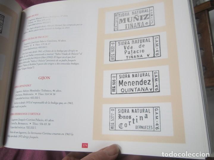 Libros de segunda mano: EL GRAN LIBRO DE LA SIDRA AÑO 1991 PENTALFA EXCELENTE ESTADO - Foto 10 - 155577322