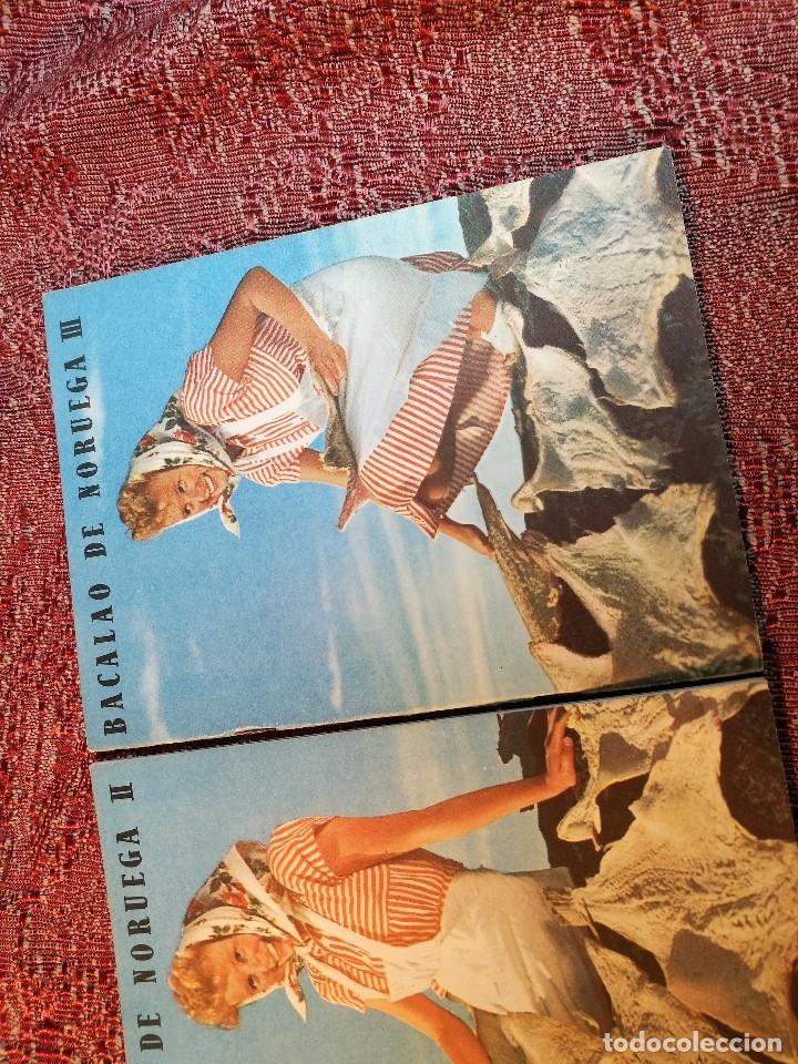 Libros de segunda mano: -BACALAO DE NORUEGA. 3 FOLLETOS CON RECETAS DE BACALAO. C. 1960. -REF-1AC - Foto 5 - 159344142