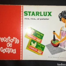 Libros de segunda mano: STARLUX RECETARIO DE COCINA. Lote 155651226