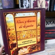 Libros de segunda mano: VINOS Y CAVAS DE ESPAÑA CON DENOMINACIÓN DE ORIGEN. POR INO FEIJOO. Lote 155655838