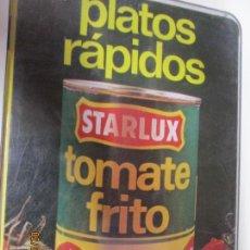 Libros de segunda mano: PLATOS RAPIDOS STARLUX TOMATE FRITO , FICHAS EN ESTUCHE 1995. Lote 155694390