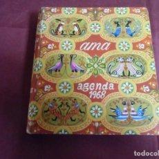 Libros de segunda mano: AGENDA AMA 1968.BUENA CONSERVACION.. Lote 155759314