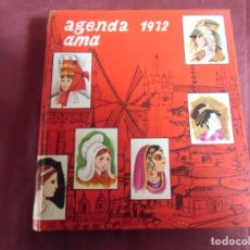 Libros de segunda mano: AGENDA AMA 1972.BUENA CONSERVACION.. Lote 155759386