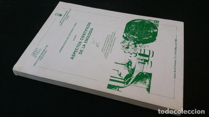 1985 - ASPECTOS CIENTÍFICOS EN ENOLOGÍA (Libros de Segunda Mano - Cocina y Gastronomía)