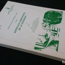 Libros de segunda mano: 1985 - ASPECTOS CIENTÍFICOS EN ENOLOGÍA. Lote 155791930