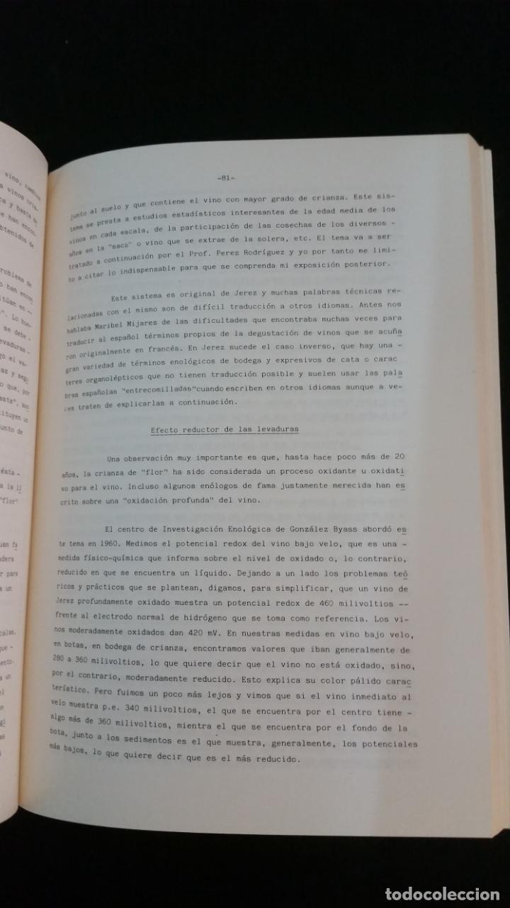 Libros de segunda mano: 1985 - Aspectos científicos en enología - Foto 2 - 155791930