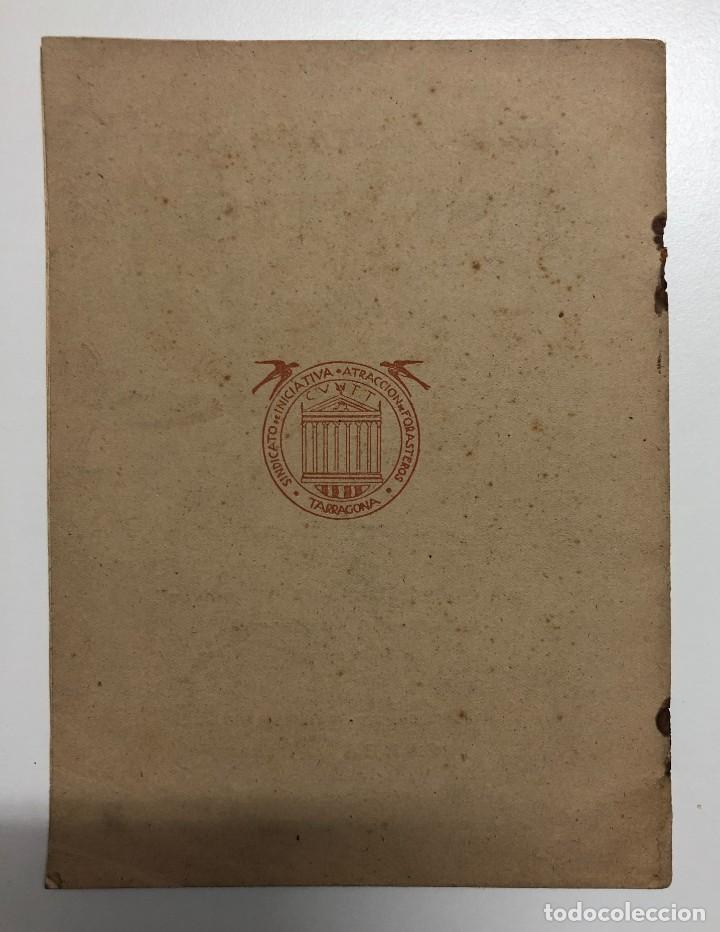 Libros de segunda mano: ANTONIO ALASÁ. EL ROMESCO. EL GRAN GUISO MARINERO TARRACONENSE. 1951 - Foto 5 - 155837010
