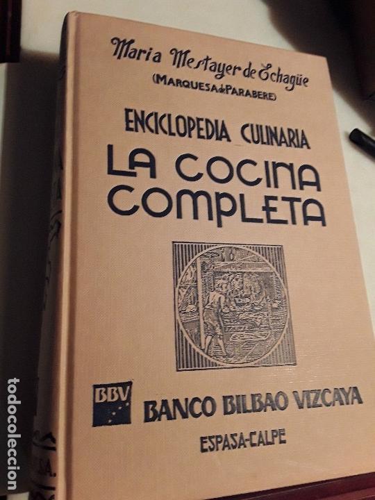 Libros de segunda mano: La cocina completa, de Maria Mestayer (Marquesa de Parabere). 1990. - Foto 2 - 155857278