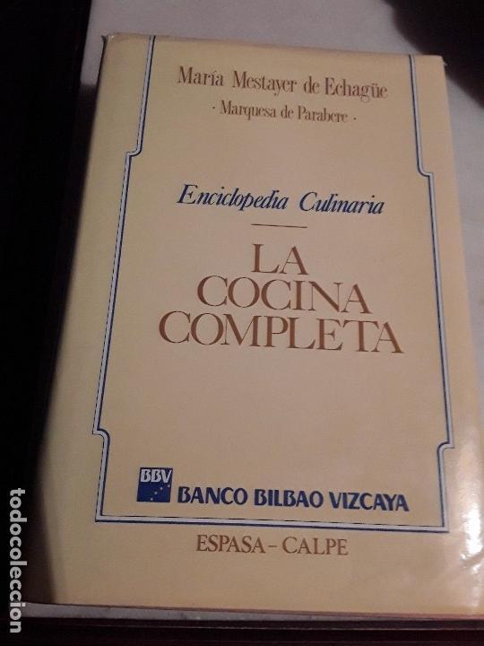 LA COCINA COMPLETA, DE MARIA MESTAYER (MARQUESA DE PARABERE). 1990. (Libros de Segunda Mano - Cocina y Gastronomía)