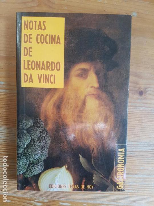 NOTAS DE COCINA DE LEONARDO DA VINCI ROUTH, SHELAGH TEMAS DE HOY. (1989) 215PP (Libros de Segunda Mano - Cocina y Gastronomía)