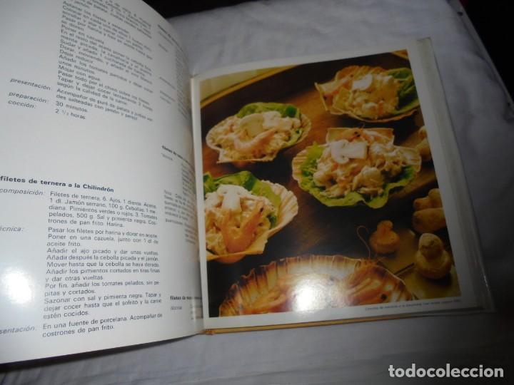 Libros de segunda mano: EL LIBRO DE COCINA.CARROGGIO EDICIONES.1983.PROLOGO DE NESTOR LUJAN - Foto 7 - 155860942