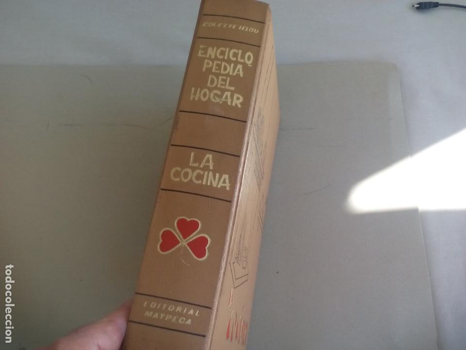 Libros de segunda mano: LA COCINA. COLETTE LELOU. ENCICLOPEDIA DEL HOGAR. EDITORIAL MAYPECA. 1973. VALENCIA - Foto 2 - 155864158