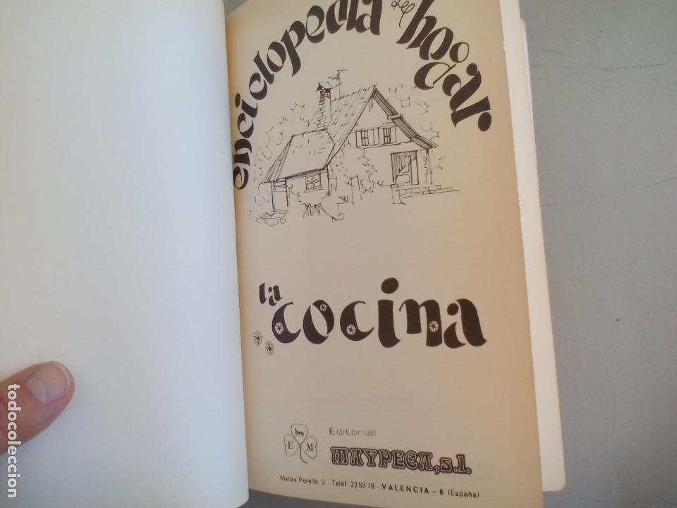 Libros de segunda mano: LA COCINA. COLETTE LELOU. ENCICLOPEDIA DEL HOGAR. EDITORIAL MAYPECA. 1973. VALENCIA - Foto 3 - 155864158