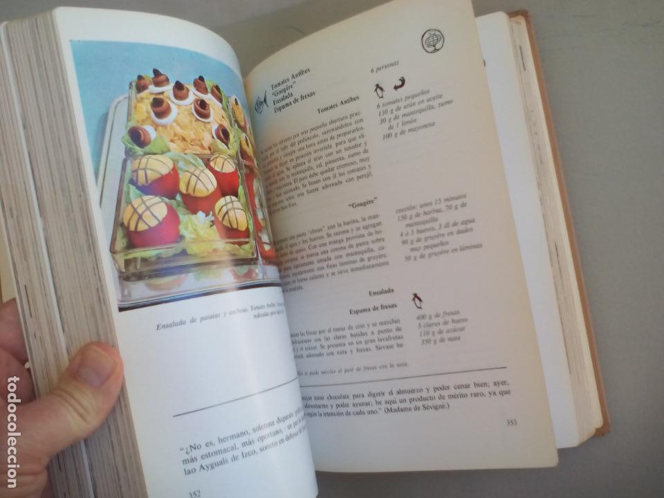 Libros de segunda mano: LA COCINA. COLETTE LELOU. ENCICLOPEDIA DEL HOGAR. EDITORIAL MAYPECA. 1973. VALENCIA - Foto 5 - 155864158