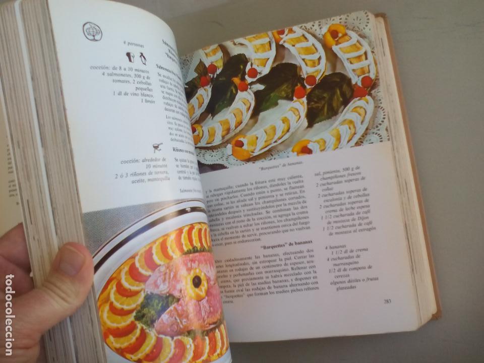 Libros de segunda mano: LA COCINA. COLETTE LELOU. ENCICLOPEDIA DEL HOGAR. EDITORIAL MAYPECA. 1973. VALENCIA - Foto 6 - 155864158