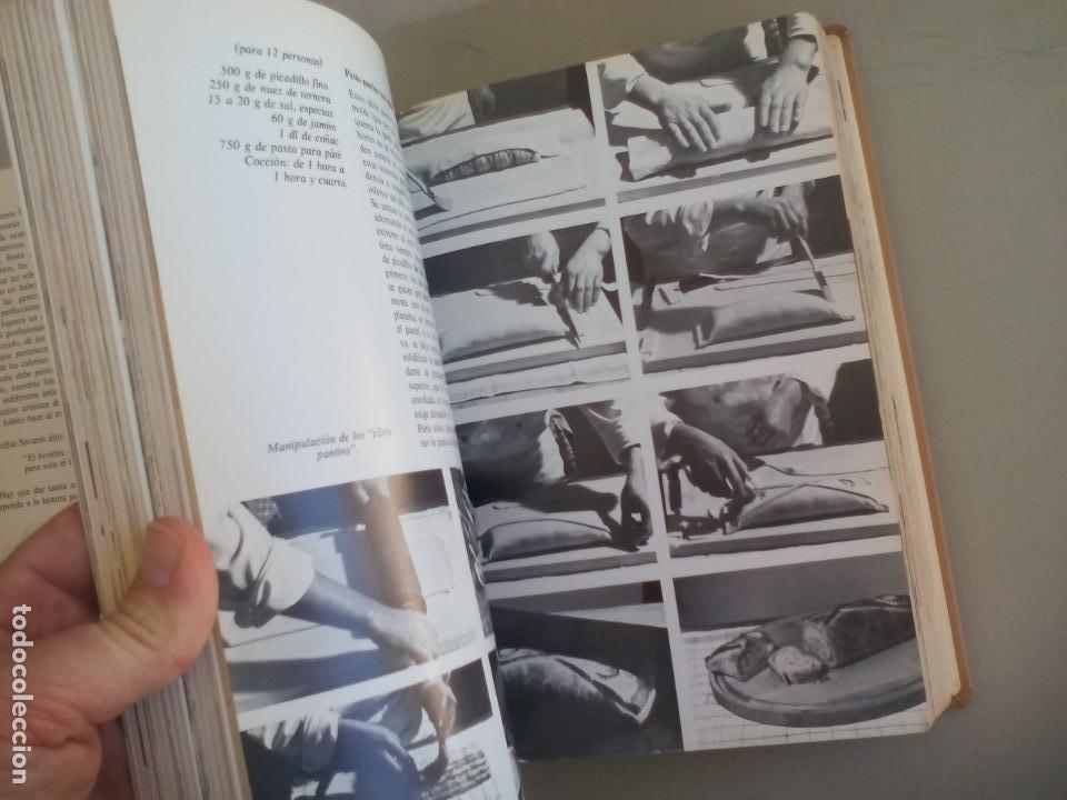 Libros de segunda mano: LA COCINA. COLETTE LELOU. ENCICLOPEDIA DEL HOGAR. EDITORIAL MAYPECA. 1973. VALENCIA - Foto 7 - 155864158