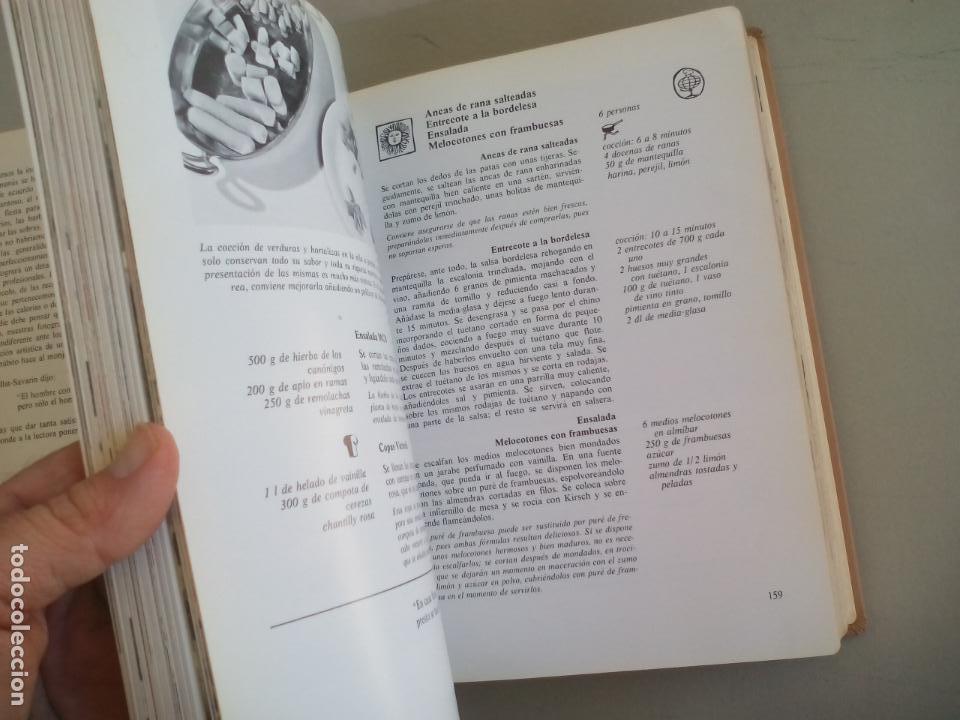 Libros de segunda mano: LA COCINA. COLETTE LELOU. ENCICLOPEDIA DEL HOGAR. EDITORIAL MAYPECA. 1973. VALENCIA - Foto 8 - 155864158