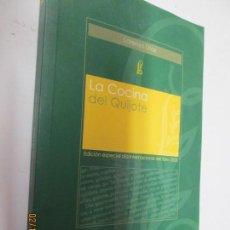 Libros de segunda mano: LA COCINA DEL QUIJOTE , LORENZO DIAZ- ALIANZA 2005. Lote 155866502