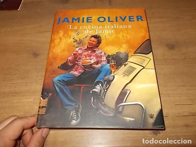 Libros de segunda mano: JAMIE OLIVER. LA COCINA ITALIANA DE JAMIE. RBA LBROS. 2ª EDICIÓN 2008. EJEMPLAR BUSCADÍSIMO!!!!!. - Foto 2 - 155868678
