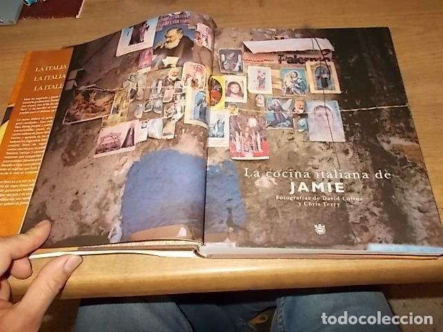Libros de segunda mano: JAMIE OLIVER. LA COCINA ITALIANA DE JAMIE. RBA LBROS. 2ª EDICIÓN 2008. EJEMPLAR BUSCADÍSIMO!!!!!. - Foto 4 - 155868678