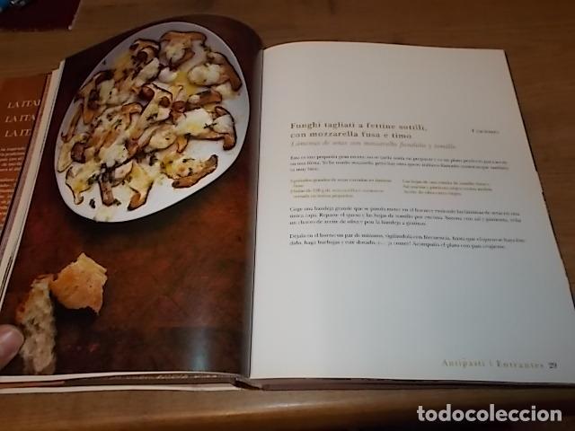 Libros de segunda mano: JAMIE OLIVER. LA COCINA ITALIANA DE JAMIE. RBA LBROS. 2ª EDICIÓN 2008. EJEMPLAR BUSCADÍSIMO!!!!!. - Foto 11 - 155868678