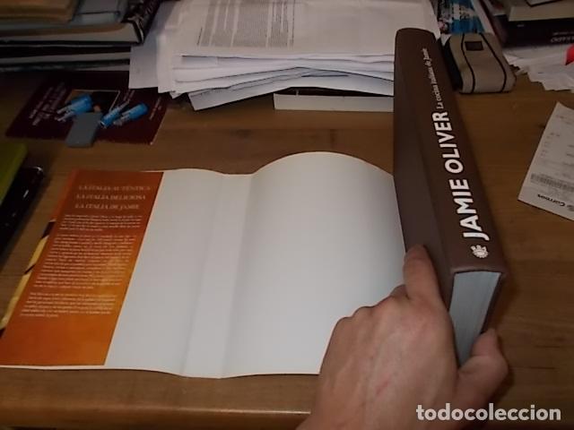 Libros de segunda mano: JAMIE OLIVER. LA COCINA ITALIANA DE JAMIE. RBA LBROS. 2ª EDICIÓN 2008. EJEMPLAR BUSCADÍSIMO!!!!!. - Foto 40 - 155868678