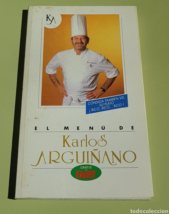 EL MENU DE KARLOS ARGUIÑANO - TDK16 (Libros de Segunda Mano - Cocina y Gastronomía)