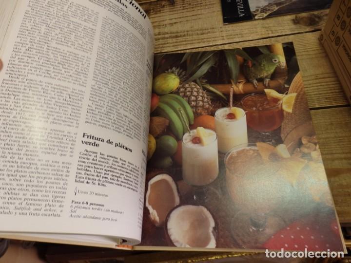 Libros de segunda mano: El Menú, Enciclopedia de la Gastronomía. 9 Volumenes+1 Vinos.Edit. Planeta 1982. ¡¡COMPLETA!! - Foto 4 - 156813994