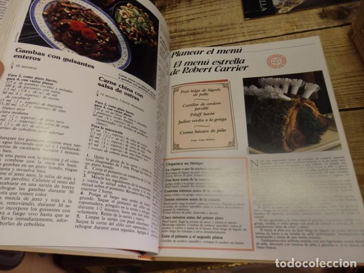 Libros de segunda mano: El Menú, Enciclopedia de la Gastronomía. 9 Volumenes+1 Vinos.Edit. Planeta 1982. ¡¡COMPLETA!! - Foto 5 - 156813994