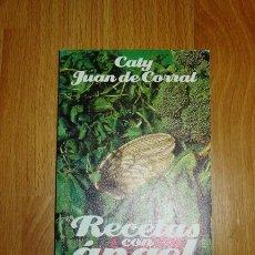 Libros de segunda mano: JUAN DE CORRAL, CATY. RECETAS CON ÁNGEL (EL LIBRO DE BOLSILLO ; 1699. LIBROS ÚTILES) . Lote 156988650