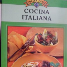 Libros de segunda mano: COCINA ITALIANA. COCINA FÁCIL.. Lote 157226278