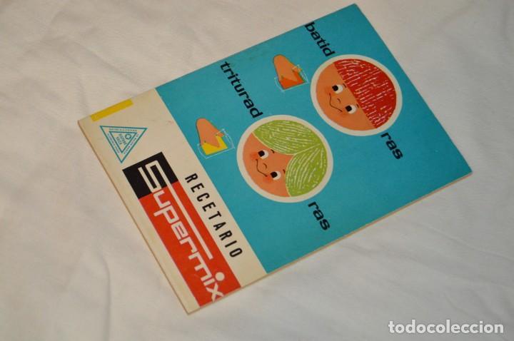 VINTAGE Y ANTIGUO - RECETARIO SUPERMIX DE BATERIA DE COCINA HISPANO SUIZA - ¡MIRA FOTOS! (Libros de Segunda Mano - Cocina y Gastronomía)