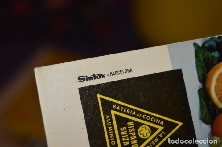 Libros de segunda mano: VINTAGE Y ANTIGUO - RECETARIO SUPERMIX DE BATERIA DE COCINA HISPANO SUIZA - ¡Mira fotos! - Foto 5 - 157455994